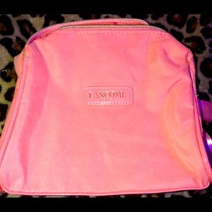 Pink Lancôme Make Up Bag